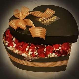 Valentine's Day Flowerbox - Heart