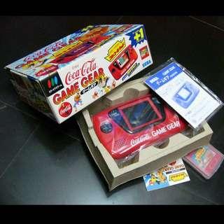 Sega Game Gear Coca Cola Limited Edition (Original)