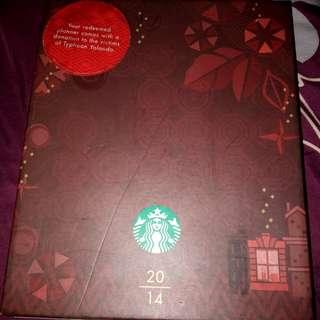 Starbucks 2014 Planner 😂