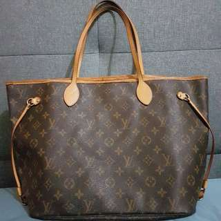 Authentic LV Neverfull MM