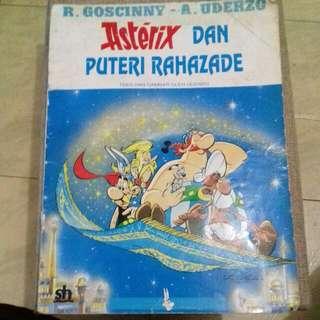 Komik Asterix Dan Putri Rahazade, SH