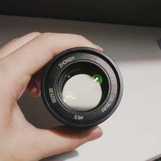 Zhongyi 35mm f/0.95 Mark II (Sony E-mount)