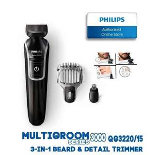 PHILIPS Multigroom Shaver_Series 3000