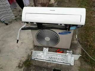 Aircond Samsung second 1.0hp