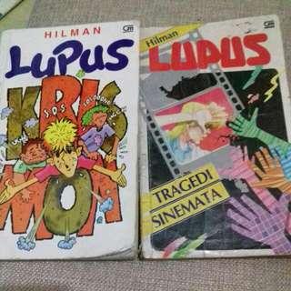 Cerita LUPUS karya Hilman