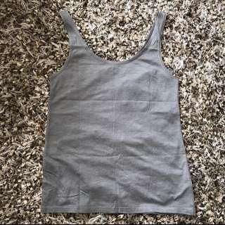 topshop grey tank top