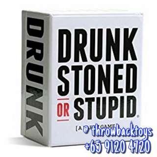 Drunked Stone Stupid