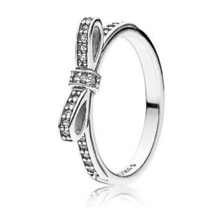 Pandora Delicate Bow Ring - Size 54