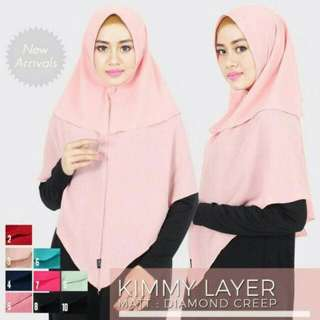 Khimar kimmy layer