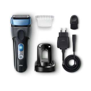 Braun Shaver CoolTec CT2S__Electric Wet & Dry Foil Shaver
