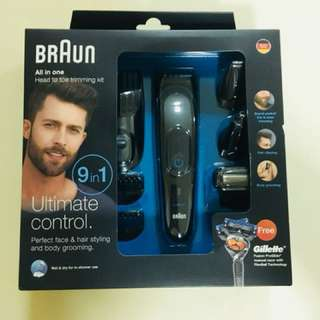 BRAUN All-In-One head to toe trimming kit