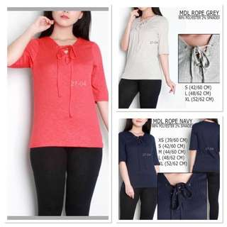 Branded MDL Rope Blouse