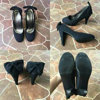 Black Heels Shoes (no brand no box)