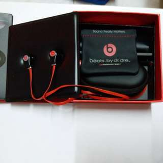 Monster Beats by Dr. Dre Tour High-Resolution In-Ear Headphones