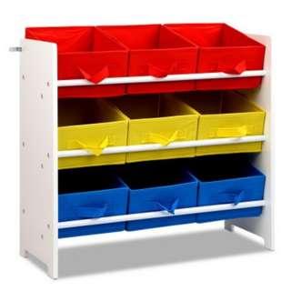 Removable Fabric Multi-bin Toy Box - 9 Bins SKU: FURNI-E-TOY-9BIN