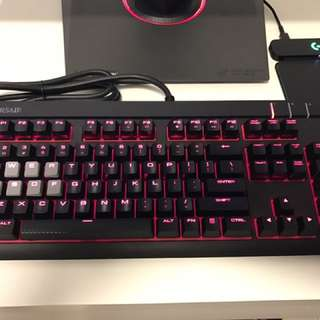 Corsair Strafe Gaming Keyboard MX Blue