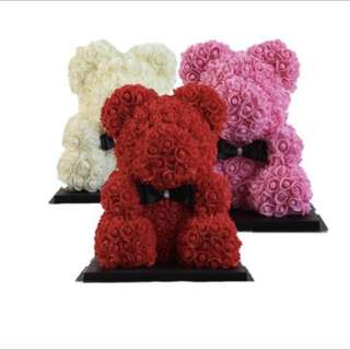 <VALENTINE'S DAY SPECIAL> BEAR ROSE BOUQUET