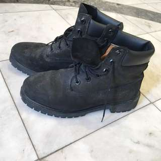 Timberland Black Shoes
