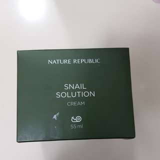 BNIB Nature Republic snail solution