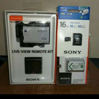 Sony action cam waterproof FDR–X3000R