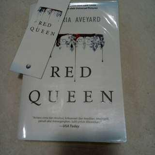 NOVEL RED QUEEN #1 BY VICTORIA AVEYARD