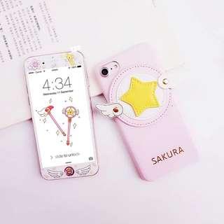 (預訂)百變小櫻iPhoneX翅膀殼7p 6plus 8p