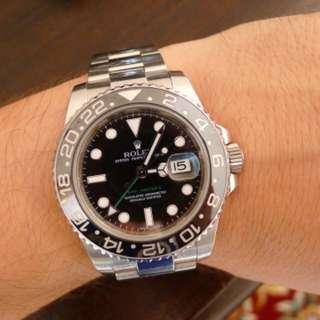 95% new Rolex 116710