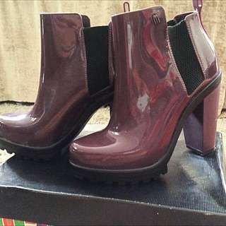 MELISSA SOLDIER GLOSS BOOTS