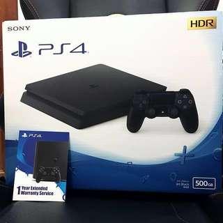 PS4 Slim 500GB (BNIB)
