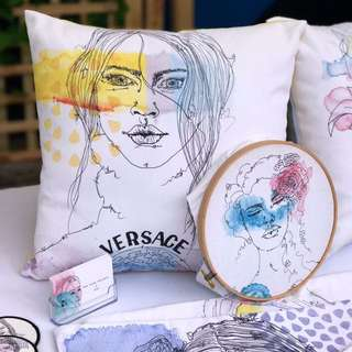 TLP Artwork work Cushions