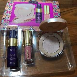 BNIB! Tarte Makeup Set - Radiant face mist, highlighter, lip paint