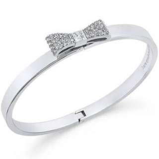 Kate Spade Pave Bow Bangle Bracelet