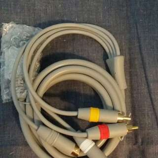 Wii A/V cords