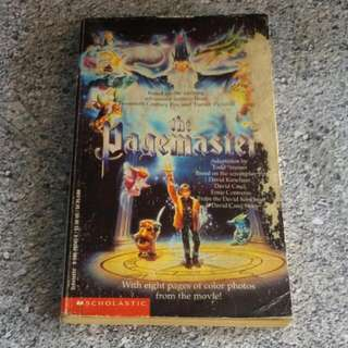 Vintage The Pagemaster Book