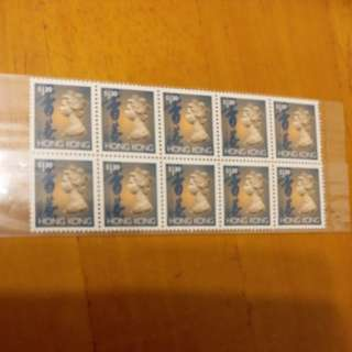 (新)英女皇頭票包郵