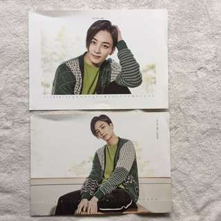 💎Seventeen💎2017 season greeting 年曆 尹淨漢 jeonghan 雙面月曆大卡