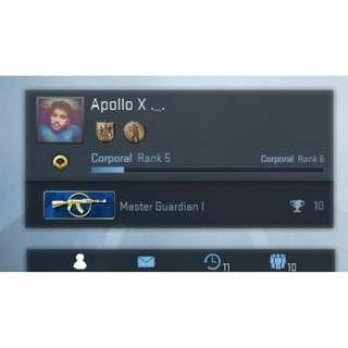 CSGO Account - Master Guardian 1 (w/ GARRY MOD, etc)