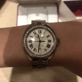 Cartier cle de watch