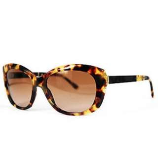 Tortoise shell Burberry sunglasses with case