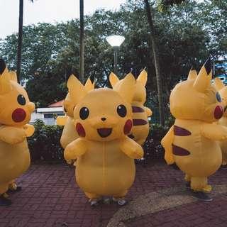 Pikachu Inflatable Mascot