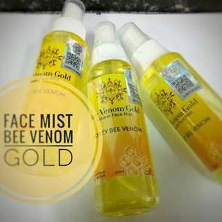 BEE VENOM GOLD FACEMIST