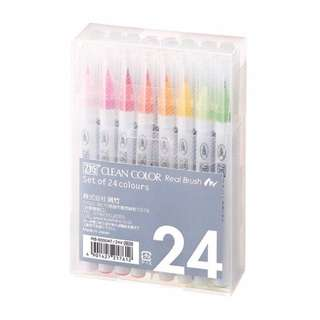 [IN] Kuretake Zig Clean Color Real Brush Set