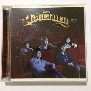 [TVXQ] Together (CD&DVD)- Japanese Single Album