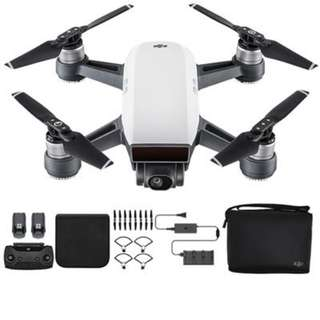 [Lowest Price] DJI Spark Fly More Combo (Barely Used)