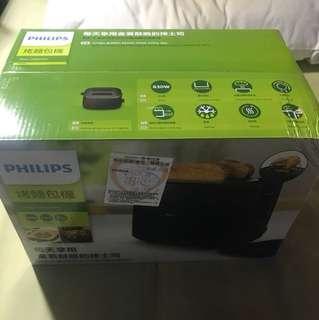 Philips全新烤麵包機!熱騰騰1/22剛抽到的尾牙獎品!因為沒有用到便宜販售!全新未拆封