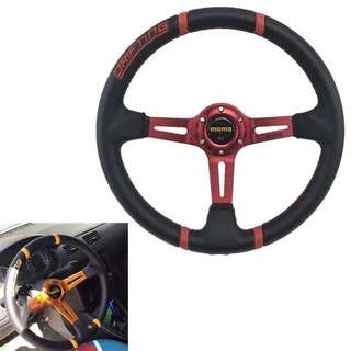 Car modified steering wheel 14 inch personalized hand embroidery Sunar modified racing steering wheel sport universal