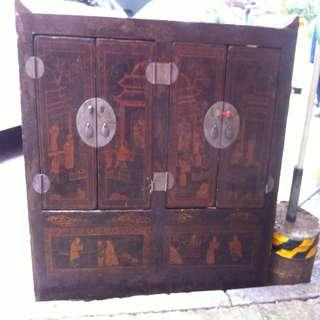 40年代潻木手工櫃
