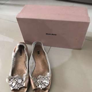 Miu miu balerina shoes