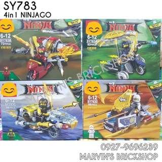 For Sale NINJAGO 4in1 Building Blocks Toy
