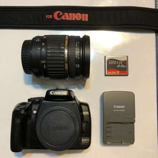 Canon 400D with Awesome Tamron 17-50mm Lens! Cheap!